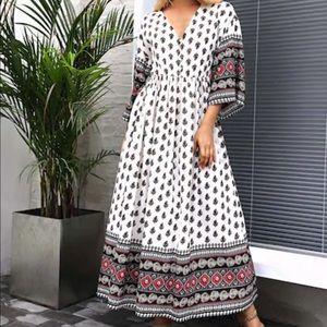 BOHO maxi dress!